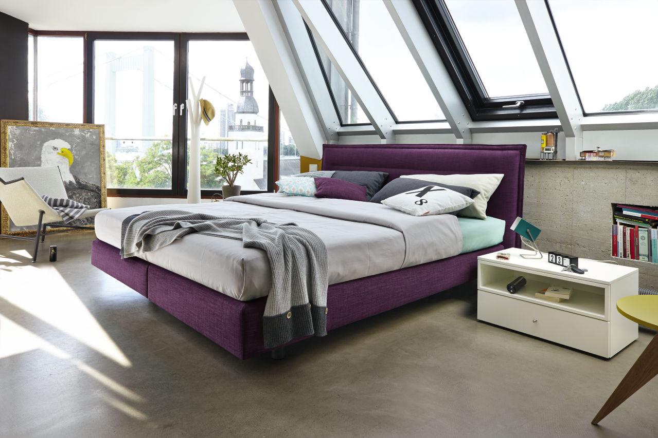 h lsta now boxspring h ls die einrichtung. Black Bedroom Furniture Sets. Home Design Ideas