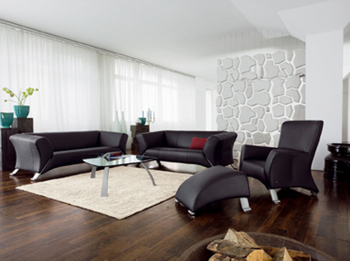 rolf benz ledersofa h ls die einrichtung. Black Bedroom Furniture Sets. Home Design Ideas