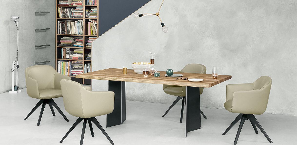 rolf benz st hle h ls die einrichtung. Black Bedroom Furniture Sets. Home Design Ideas