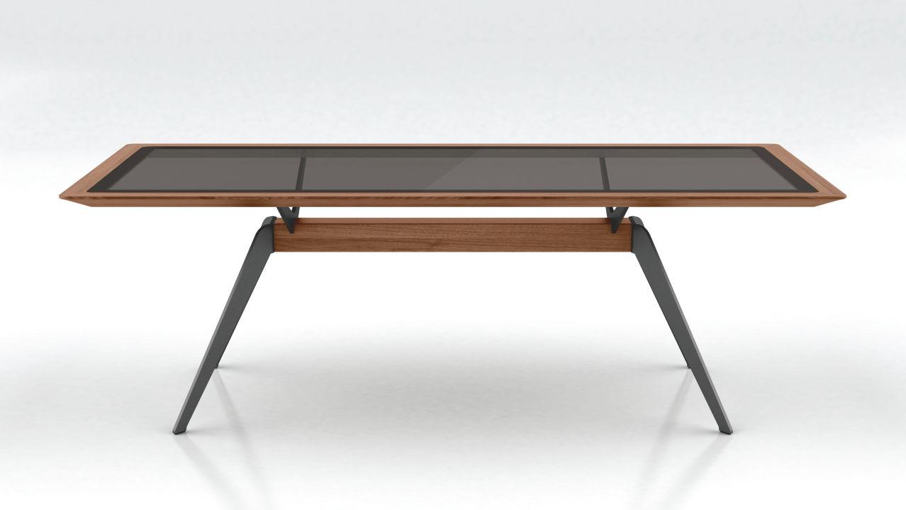 Solid By Hulsta Kreuzfuss Tisch Huls Die Einrichtung